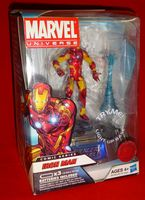 Marvel Universe: Exclusive Comic Series with Light-Up Base Iron Man